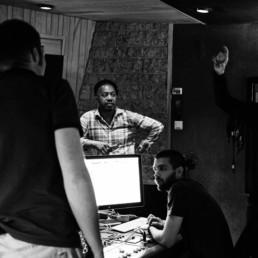 Delgres control romm la frette studios